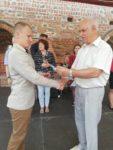 Вручение именных стипендий Белорусского фонда мира одаренным и талантливым учащимся из Гродненской области