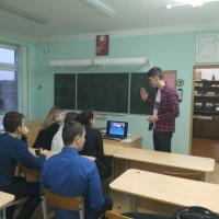 Студенты Гродненского филиала принимают участие в профориентационной работе