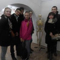Посещение студентами анатомической экспозиции