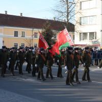 Военный парад, посвященный 100-летию Вооруженных Сил Республики Беларусь, прошел в Гродно