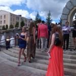 Торжественное вручение дипломов выпускникам