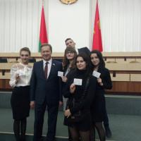 В Гродно прошла первая сессия молодых парламентариев