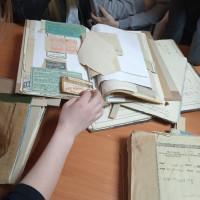 Экскурсия в ГУ «Национальный исторический архив Беларуси в г. Гродно»