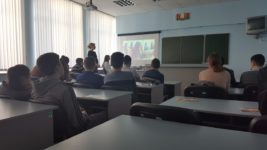 Профориентационная встреча с будущими абитуриентами в Государственном учреждении образования