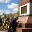 Церемония возложения цветов к братской могиле