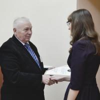 Вручение стипендий фонда им. профессора С.Ф. Сокола