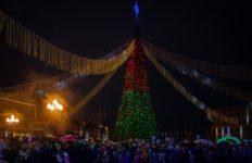 Традиционный парад Дедов Морозов