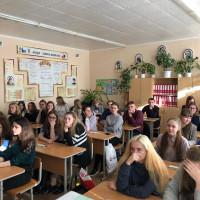 Профориентационные встречи студентов Гродненского филиала  с выпускниками 11 классов