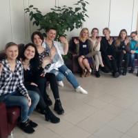 Студенты 1 курса специальности «Правоведение» посетили отделение Хоспис УЗ «Городской клинической больницы №3 г.Гродно»